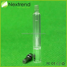 Nextrend new coming glass bubbler pyrex glass pipes for wax