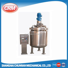Stainless steel sanitary grade shampoo mixing tank and vessel