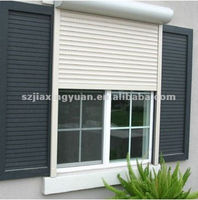 Automatic Aluminum Fire Rated Roller Shutter With Pu Foam