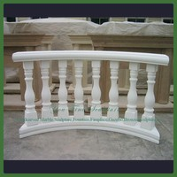 Hot Sale Home White Marble Guardrail