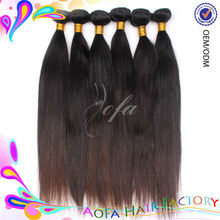 Can be dyed 100% human hair wigs silky straight hair