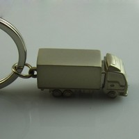 Wholesale Cheap 3d metal coach key chain for Promotion Gift Manufacturer