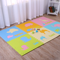 Factory price non slip eco friendly soft floor tatami jigsaw interlinking baby eva play mat