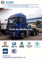 China foton truck semi tractor 6*4, used truck tractor head