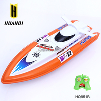 Wholesale toys for kids HQ951B remote control model boats 2.4G racing rc boat