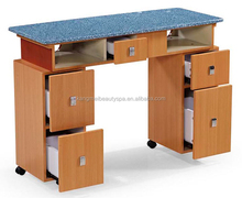 2016 beauty salon furniture manicure nail bar table