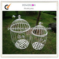 Round decorative wholesale vintage bird cages