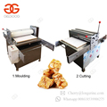 China Professional Peanut Brittle Maker Cereal Bar Production Line Sesame Flake Energy Bar Making Machine For Sale