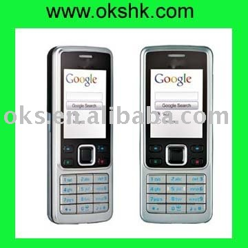 Original quad band cell phone 6300