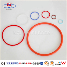 Heat Resistant rubber silicone o ring food grade