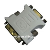DVI (24+5) & (12+5) Pin Male to HD15 Pin Female adapter