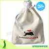 Golf tees Golf Balls 100% Cotton Bag With Drawstring