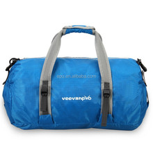 outdoor carry on type foldable duffel bag travel bag