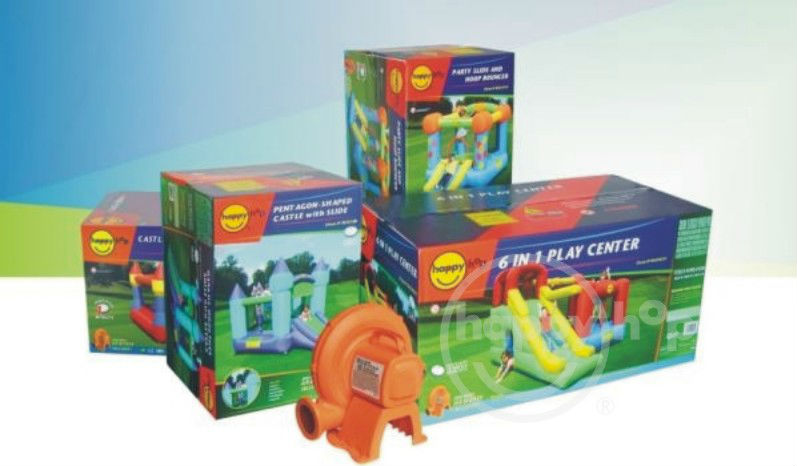Happy Hop 9023--combo inflatable bounce house equipment