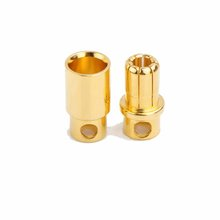 8.0mm gold plated banana plug to spade