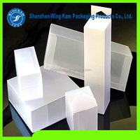 plastic printing feature eyelash box packaging & hair extension wig box