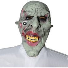 Halloween Cosplay Horrific PVC Mask For Halloween Party Decoration