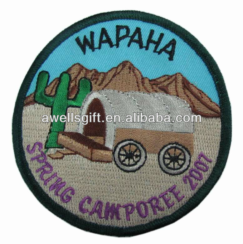 embroidery textile badges patch