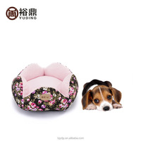 2016 new fabric pattern dog bed for sale