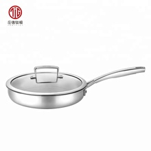 High Quality Pot Sets Kitchen Queen Non-stick pure titanium Cookware Frying Cake Pan Set