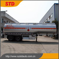 China around 35000 liters steel fuel tank semi trailer