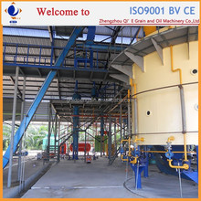 Automatic crude rice bran oil making machine, continuous crude rice bran oil solvent extraction plant
