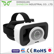 2017 new vision virtual reality 3d glasses, shinecon vr accept OEM
