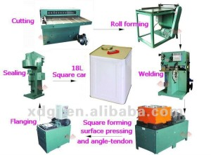 10-18L Tin Can Making Machine Production Line