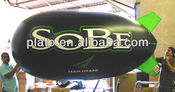 remote control advertising blimp with logo/inflatable sky blimp for sale for advertising