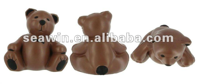 Teddy Bear Stress Ball / PU Stress Bear(polyurethane)