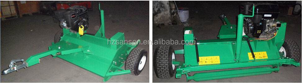 sansen Flail Mower with CE , ATV Flail Mower, lawn Towable Mower