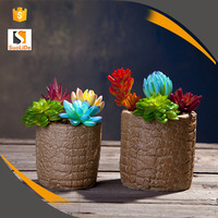 Round Shape Ceramic Flower Pots Wholesale