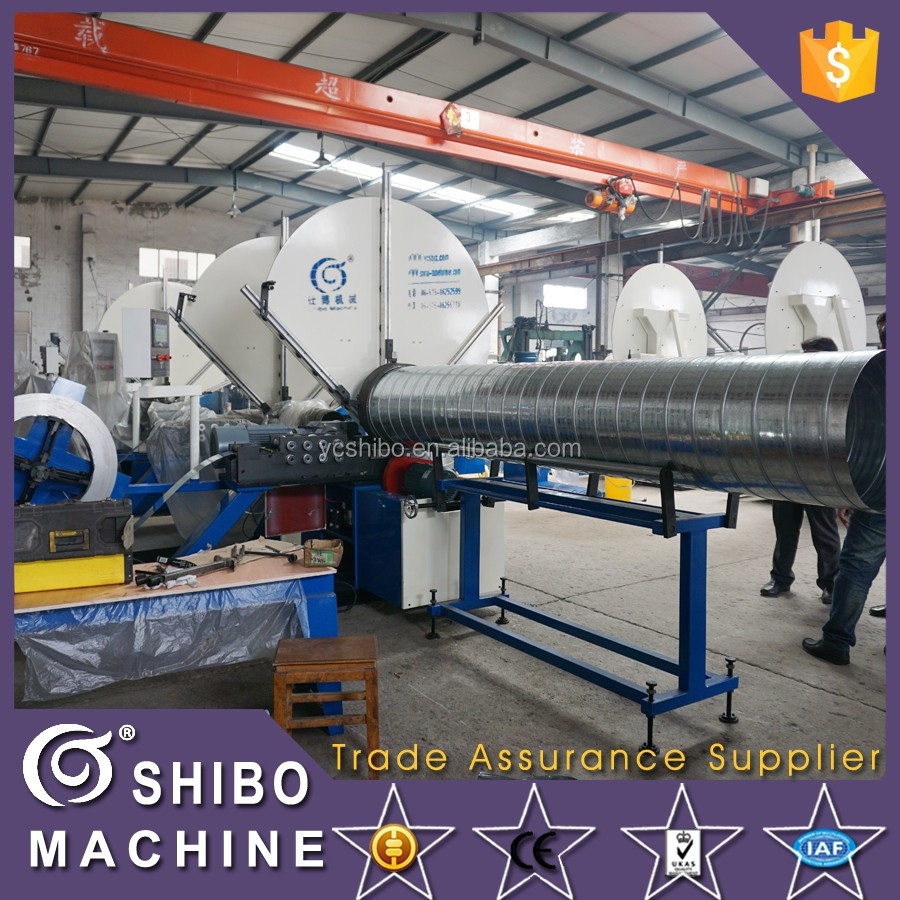 CE Spiral Duct Machine