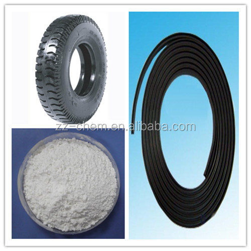 Double Vigour light gray powder rubber accelerator / rubber chemical TMTD with popular