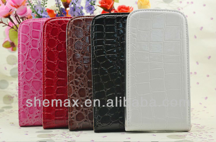 Durable Leather Mobile Phone Cases for Galaxy S3/9300