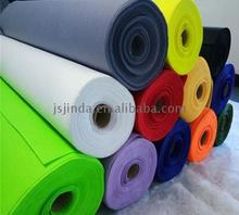 Disposable needle puched polyester purple commercial carpet