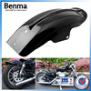 China supply motorcycle parts black short fender/plastic board,rear fender for Harley XL883 XL1200