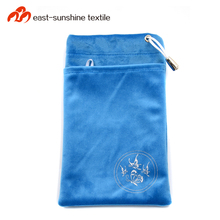 China top ten selling phone accessories products microfiber cell phone pouch