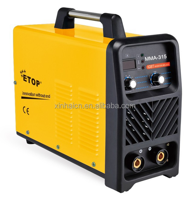 Elegant design MMA-315 DC inverter welding equipment