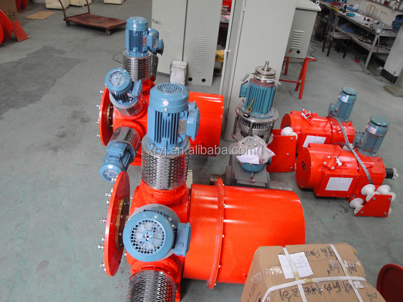 Large power cable reel