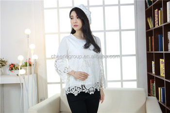 Wholesale alibaba hot products 100% Cotton woven customed knitted crochet top