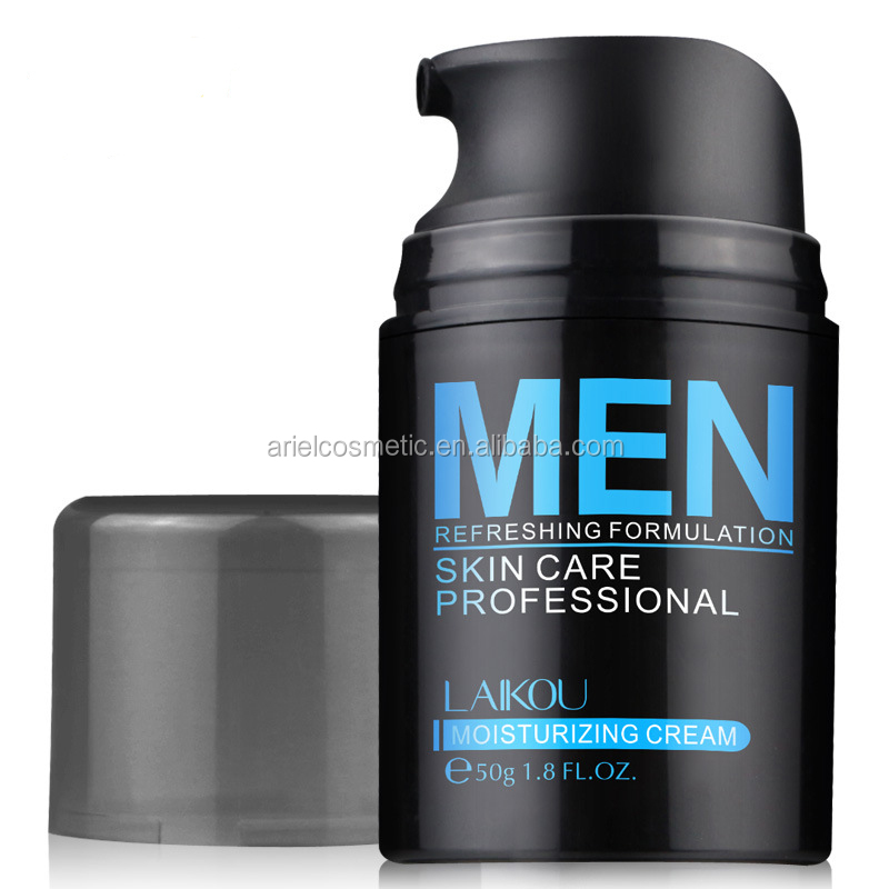 Men's deep ocean minerals best moisturizing whitening face cream for oily skin