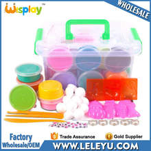 WB1104-3 Modeling Clay with Tools & Accessories 24 Colors Play Dough with High Quality