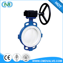 JIS 16K PTFE Lined Wafer End Type Butterfly Valve with Price