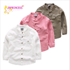china factory sales directly simple boy blouse cotton t shirt for children