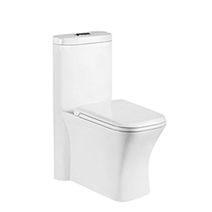 8397 Good white ceramic one piece toilet parts high efficiency toilet