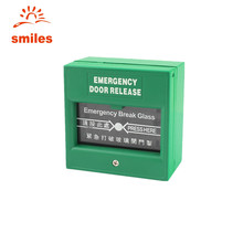 Break Glass Fire Emergency Exit Switch Door Release Button For Access Control