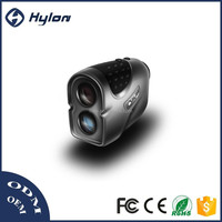 1000m Hylon pocket laser rangefinder for golf and hunting with pinseeker, angle measurement