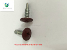 wafer head phillips self drilling screw