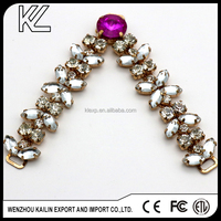 Rhinestone Ornaments Chain For Shoes